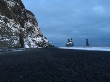 Black sand beach in Vik