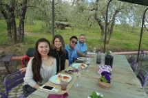 Tasting at Montefioralle Winery