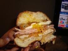 Three Little Piggy Sandwich