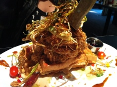 Chicken & Waffles from Hash House