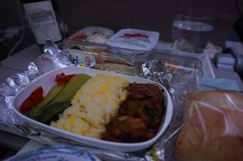 Dinner is served on Emirates!
